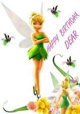 Personalized, Tinker Bell Birthday Card, Free p&p