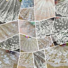 16 Styles Vintage  net Lace Edge Trim  cloth Wedding Ribbon Sewing Craft DIY