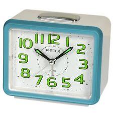 RHYTHM Wecker Uhr Alarm Weiss CRF802NR04
