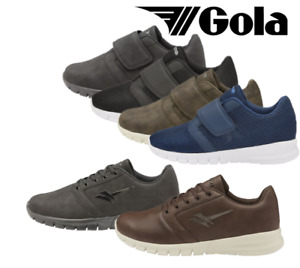 Men's Gola Oscar Memory Foam Comfort Breathable Casual Wear Wide Fit Trainers