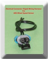 Connector of ABS Wheel Speed Sensor ALS1184 Front-Right/Left Fits: Chevrolet GMC