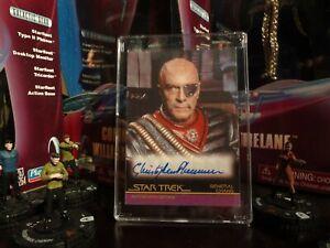 Star Trek Movies versions autograph A57 Christopher Plummer