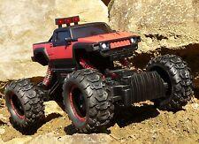 RC MAXI Rock Crawler HUMMER mit ALLRAD + AKKU Ferngesteuert 2,4GHz         99574