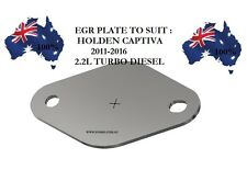 EGR PLATE FOR HOLDEN CAPTIVA 2011-2016 2.2L TURBO DIESEL, FOSKO PLATE F27
