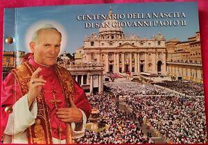 ENVELOPPE PHILATELIQUE ET NUMISMATIQUE 2€ BU pape Jean paul II n° 2047 / 5000 EX