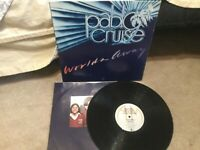 Pabl Cruise: Worlds Away LP on A&M Label SP-4697..70's POP-ROCK VG+/ VINYL is EX