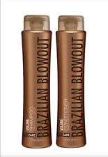DISCOUNT SPECIAL!! Brazilian Blowout Volume Shampoo and Conditioner DUO 12oz