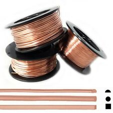 Each Copper Wire Dead Soft 10,12,14,16 Ga 4 Assorted Sizes 5 Ft