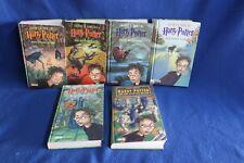Harry Potter - 6 verschiedene Bände - gebundene Ausgabe