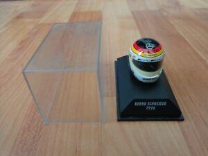 MINICHAMPS 1/8 CLASSIC BERND SCHNEIDER 1996 ITC MERCEDES AMG CRASH HELMET F1