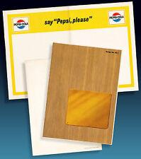 PEPSI COLA | ALTES GOLFCLUB PROGRAMM ORDERMUSTER 1965 > 4-PAGE PROGR.