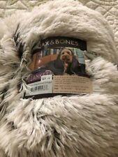 """Jax & Bones Arctic Pet Shag Blanket """"L"""" (54"""" x 36"""")"""