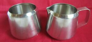 ONEIDA STAINLESS STEEL CREAM AND SUGAR BOWL