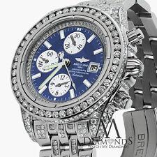 Breitling Hombres Evolution Reloj Con Personalizado añadida 15ct de ORIGINAL