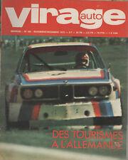 VIRAGE AUTO 1973 109 TOUR AUTO FERRARI 365 GT4 GP ITALIE CANADA USA SAN REMO