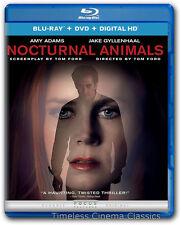 Nocturnal Animals Blu-ray/DVD/Digital HD 2 Disc New Amy Adams Jake Gyllenhaal