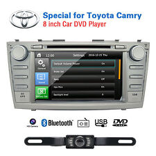 Car Radio Stereo DVD Player HD 8'' 2Din GPS For Camry 2007 2008 2009 2010 2011