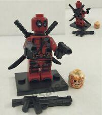 Figurine Marvel DC Comics Deadpool compatible Lego, neuf CE minifigur .