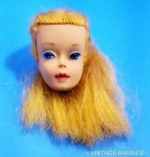 Blond Ponytail #? Barbie Doll #850 Head Only  ~ Vintage 1960's