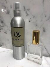 Grabazzi  For Men 10 oz Eau De Cologne Spray New @ 2 OZ REFILLABLE ATOMIZER