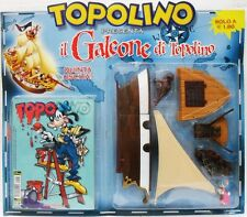 """TOPOLINO """"Il galeone di Topolino"""" 5a uscita n° 2524 blisterato con fumetto"""