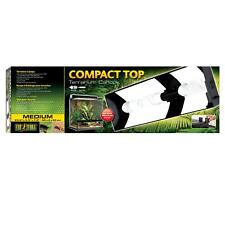 Exo Terra Compact Top Terrarien Abdeckung - Beleuchtung 60 x 9 x 20 cm   PT2227