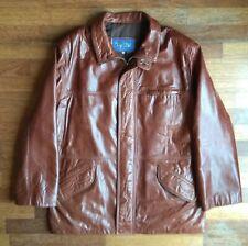 Cazadora/chaqueta de cuero (talla 58 XXL)