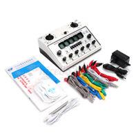Electric Acupuncture Stimulator Massager Machine KWD808-I 6 Output Patch Care US