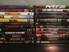 Lot Of 24 Movies - Dvds Action Horror Kill Bill, Die Hard, Godfather 2, Avengers