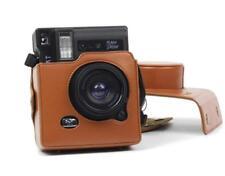 """Leather camera case sac pour Lomography Lomo """"instantané marron Automat"""