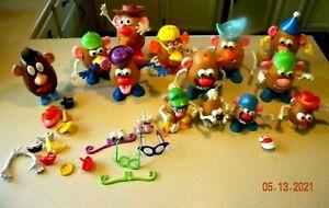 Huge lot of Mr. Potato Head toys  135 + pieces