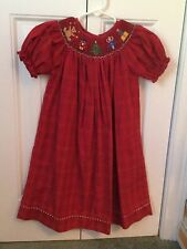 EUC Anavini Smocked Nutcracker Dress 4t