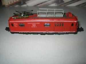 Modellbahn Arnold Spur N, Triebwagen, Lichtwechsel weiß-rot , Gebrauchsspuren
