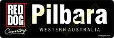 Red Dog Pilbara Bumper Sticker