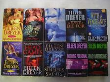 BIG Lot (10) EILEEN DREYER Historical Romance Thriller Books DRAKES RAKES SERIES