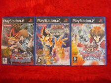 ps2 YU-GI-OH! X3 Duelists of the Roses+Capsule Monster Coliseum+GX Tag Force Evo