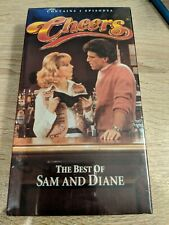 Cheers TV Show VHS Paramount The Best Of Sam And Diane NIB