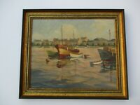 LYNN WINANS OIL PAINTING AMERICAN IN FRANCE FRENCH IMPRESSIONISM LANDSCAPE VIEW