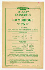 British Rail (1948-1997) Collectable Railway Handbills