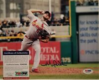 Michael Wacha Rookie Signed St Louis Cardinals 8x10 Photo PSA/DNA RookieGraph...