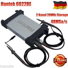 Digital 2 Kanal 20MHz Storage Oscilloscope Hantek 6022BE USB 48MSa/s Oszilloskop
