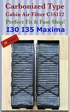 I30(01) I35(02-04)/ Maxima(00-03) Carbonized Type AC Cabin Air Filter C16112 ^o^
