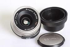 Carl Zeiss biogon 2.8/28mm t * para Contax g1-2