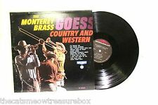 The Monterey Brass Goes Country and Western LP 33 Vinyl Record Diplomat D2393