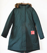 The North Face Women's ARCTIC PARKA 550-Fill Goose Down Jacket Scarab Green XL
