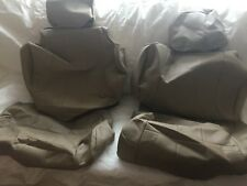 1997 Toyota 4Runner Leather Replacement Seat Covers Oak Sand Tan Beige