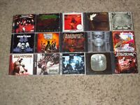 MASSIVE LOT OF 60 HEAVY/EXTREME METAL CDs! THRASH DEATH BLACK POWER PROG DJENT