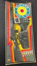 New Vitg Rayline Plastic Toy Rifle Holster Western Shooting Set #280 Gun Bullets