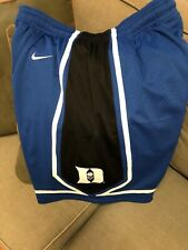 Duke Blue Devils Basketball Nike Blue XL Replica Shorts