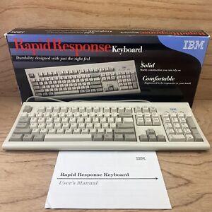 IBM Rapid Response Vintage Keyboard Wired PS/2 Model KB-3923  09N5540 ~ NEW